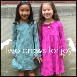 Two Crows for Joy - organic children's clothing made in the USA