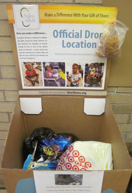 Soles4souls donation box