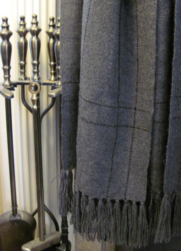 Alpaca shawl by Tom Jipson