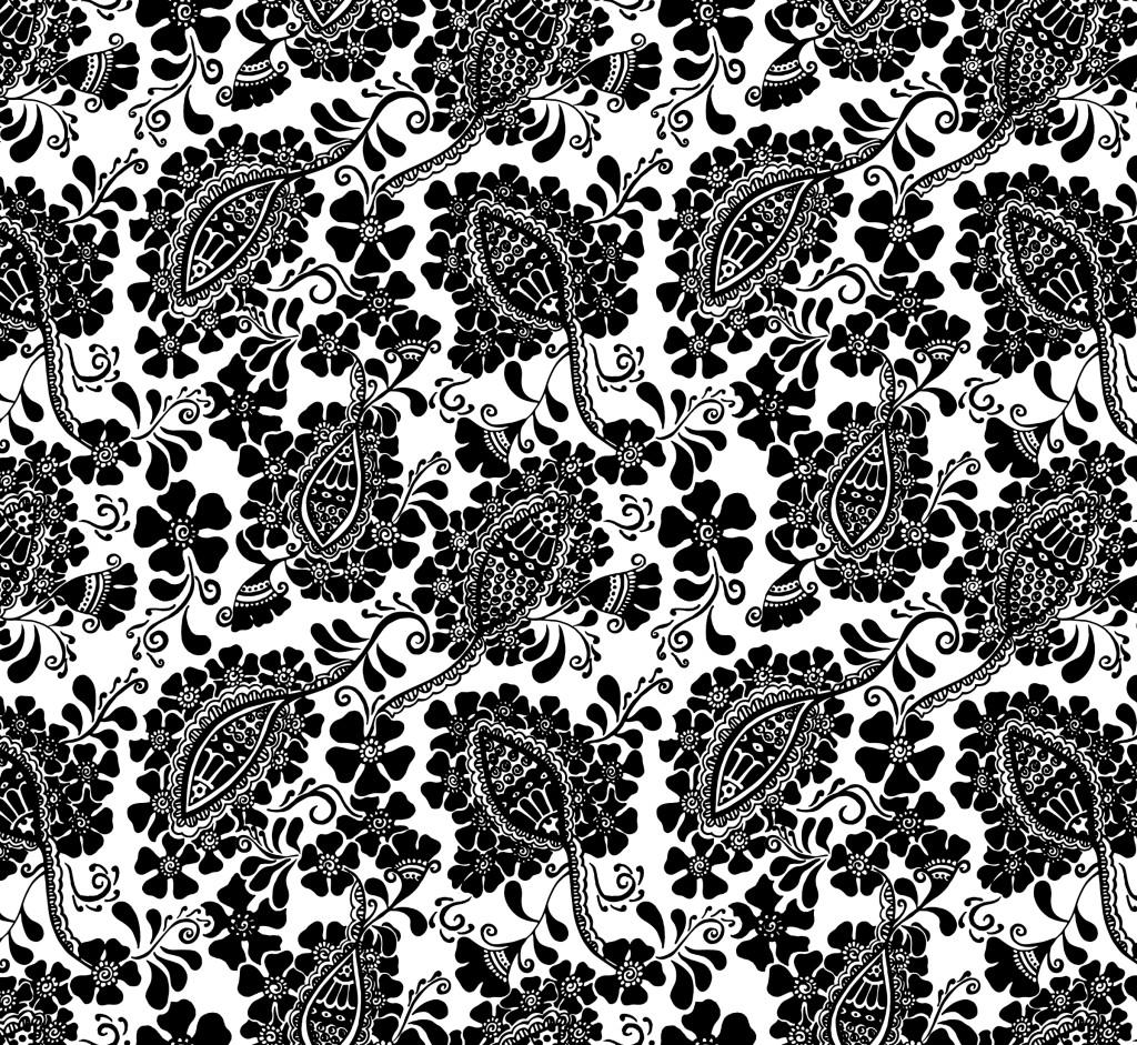 Henna organic cotton fabric